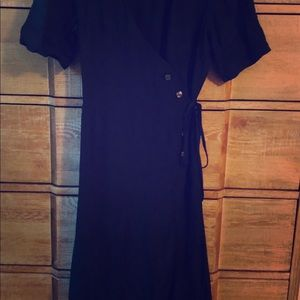 Gap dress size medium black